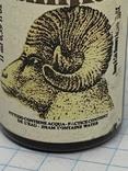 Бутылочка винтажная с Англии с остатком напитка, фото №4