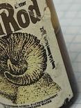 Бутылочка винтажная с Англии с остатком напитка, фото №5