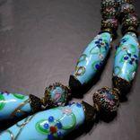 Бусы Намисто Украшение венеційське скло коралі, фото №2