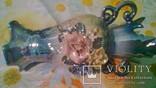 Набір для туалетного столика. Вазочка для квітів і шкатулочка для прикрас., фото №11