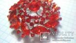 Брошка червона, фото №8
