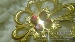 Брошка квітка з клеймом, фото №8