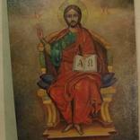 Икона.Исус на троне., фото №3