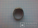 Кольцо СССР срібне дуте р. 18, фото №8