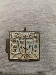 Створка солдатского складня в эмалях, фото №2