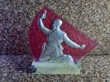 Барельеф сувенирный ,,Комбат,,, фото №2