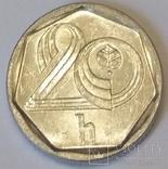 Чехія 20 гелерів, 1997