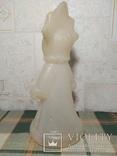 Снегурочка времён СССР под раскраску, фото №4
