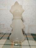 Снегурочка времён СССР под раскраску, фото №5