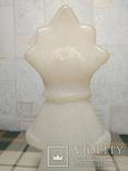 Снегурочка времён СССР под раскраску, фото №10