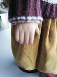 Кукла Высота 42 см, керамика на подставке, фото №4