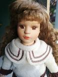 Кукла Высота 42 см, керамика на подставке, фото №13
