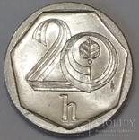 Чехія 20 гелерів, 1998