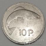 Ірландія 10 пенсів, 1980
