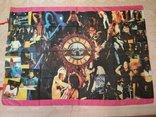 15. Баннер Guns N'Roses 97х135см, ткань, новый, фото №2