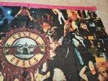 15. Баннер Guns N'Roses 97х135см, ткань, новый, фото №6