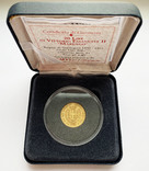 20 лир 1859 года. Сардиния. (Коробка, сертификат), фото №5