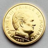 10 сантимов 1962 года. Монако.  (Пробная), фото №3