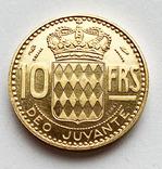 10 франков 1950 года. Монако. (Пробная), фото №2