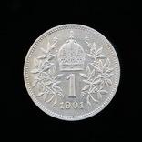 1 Крона 1901, Австро-Венгрия аUNC фото 2