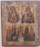 Блаженное чрево, Взыскание погибших с избранными святыми и ангел хранитель, фото №2