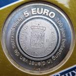 """Нидерланды, 5 серебряных евро 2006 PROOF """"200 лет финансовому офису Нидерландов"""", фото №5"""