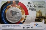 """Нидерланды, 5 евро 2011 """"Живопись Нидерландов"""", фото №2"""