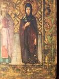 Икона Святых на золоте, фото №6