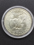 1 доллар США серебро, фото №2