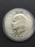 1 доллар США серебро, фото №3