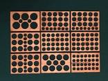 Мюнцкабинет для 173 монет (серия Мадер), фото №12