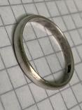 Обручальное Кольцо 18 размер серебро 916 звезда, фото №3