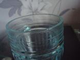 Пивной бокал,кружка БССР, 50-е года,толстое цв. стекло, фото №8