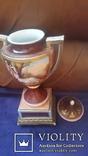 Две старинные фарфоровые вазы старая Вена, фото №8