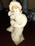 """Ёлочная ватная игрушка """"Девушка с муфтой """", фото №6"""