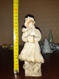 """Ёлочная ватная игрушка """"Девушка с муфтой """", фото №7"""