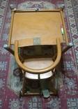 Старинные детские ходули-стол-стул трансформер, фото №3