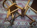 Старинные детские ходули-стол-стул трансформер, фото №7