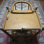 Старинные детские ходули-стол-стул трансформер, фото №8