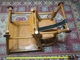 Старинные детские ходули-стол-стул трансформер, фото №11