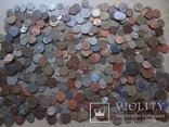 Супер- Гора монет с нашими и зарубежными (552 штуки.)