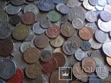 Супер- Гора монет с нашими и зарубежными (552 штуки.) фото 3