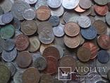 Супер- Гора монет с нашими и зарубежными (552 штуки.) фото 4