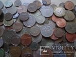 Супер- Гора монет с нашими и зарубежными (552 штуки.) фото 6