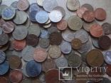 Супер- Гора монет с нашими и зарубежными (552 штуки.) фото 7