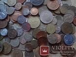 Супер- Гора монет с нашими и зарубежными (552 штуки.) фото 10