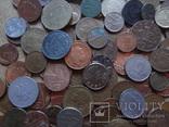 Супер- Гора монет с нашими и зарубежными (552 штуки.) фото 12