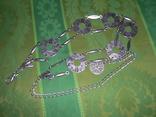 Пояс из тяж.металла в скандинавском стиле - реконструктору, фото №4