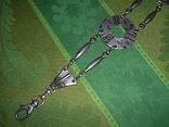 Пояс из тяж.металла в скандинавском стиле - реконструктору, фото №5