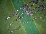 Пояс из тяж.металла в скандинавском стиле - реконструктору, фото №6